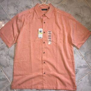 Cubavera Short Sleeve Button Up